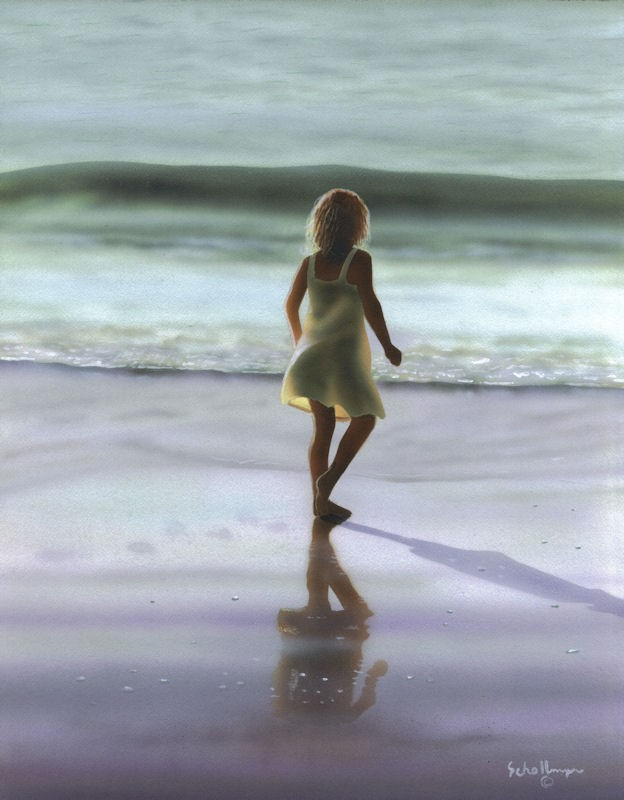 """Ocean Tag"" original fine art by Fred Schollmeyer"