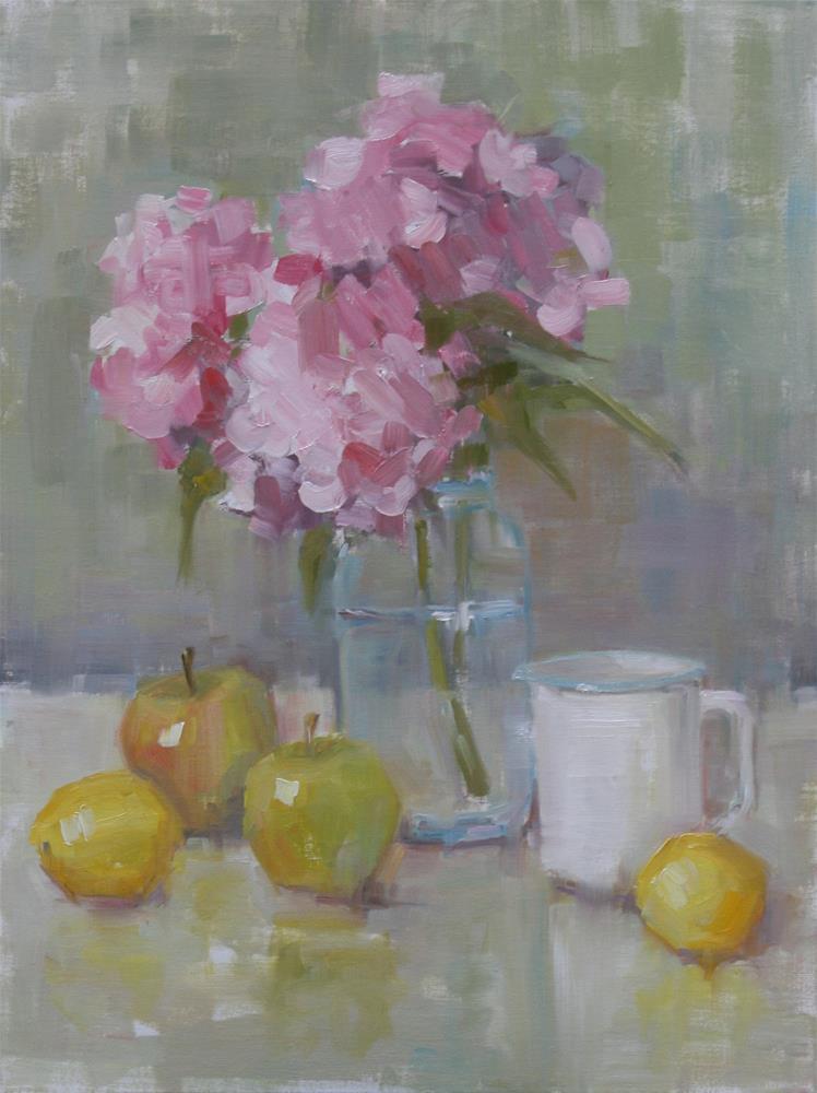 """""""color me pink"""" original fine art by Carol Carmichael"""