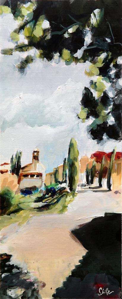 """2613 Maubec View"" original fine art by Dietmar Stiller"