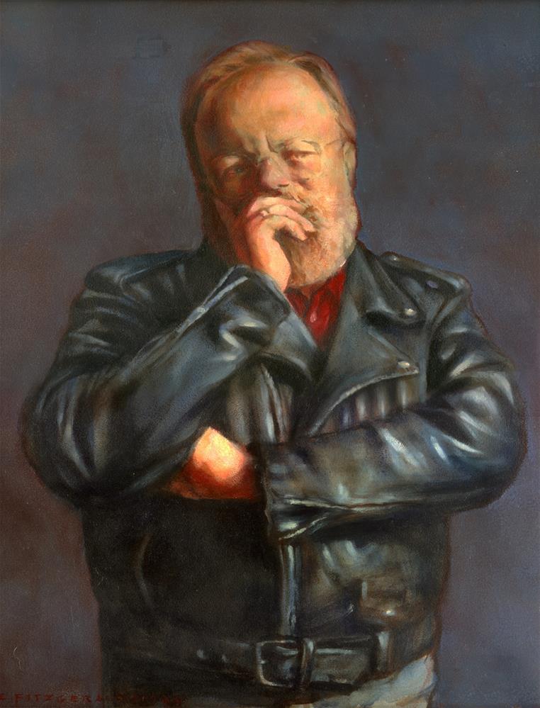 """Posing for the Inevitable Monument"" original fine art by Joe Fitzgerald"