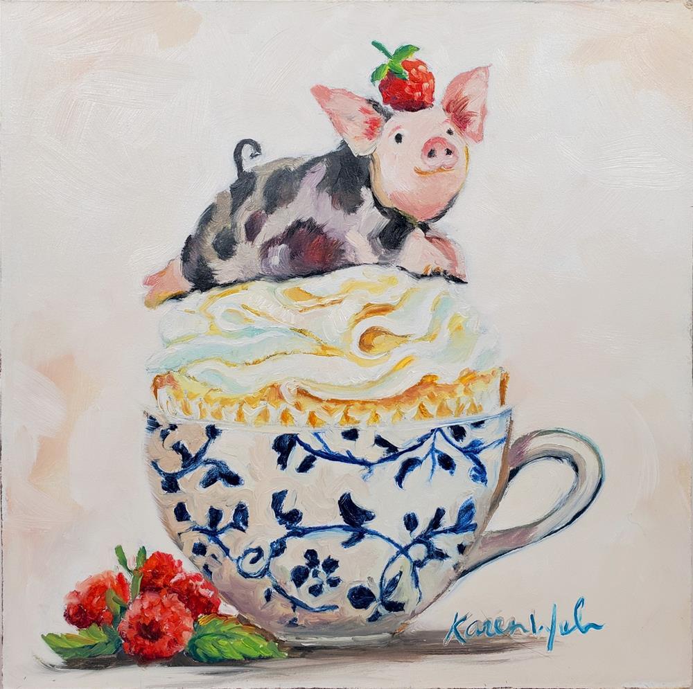 """""""A Quiet Multitude of Little Miracles"""" original fine art by Karen Weber"""