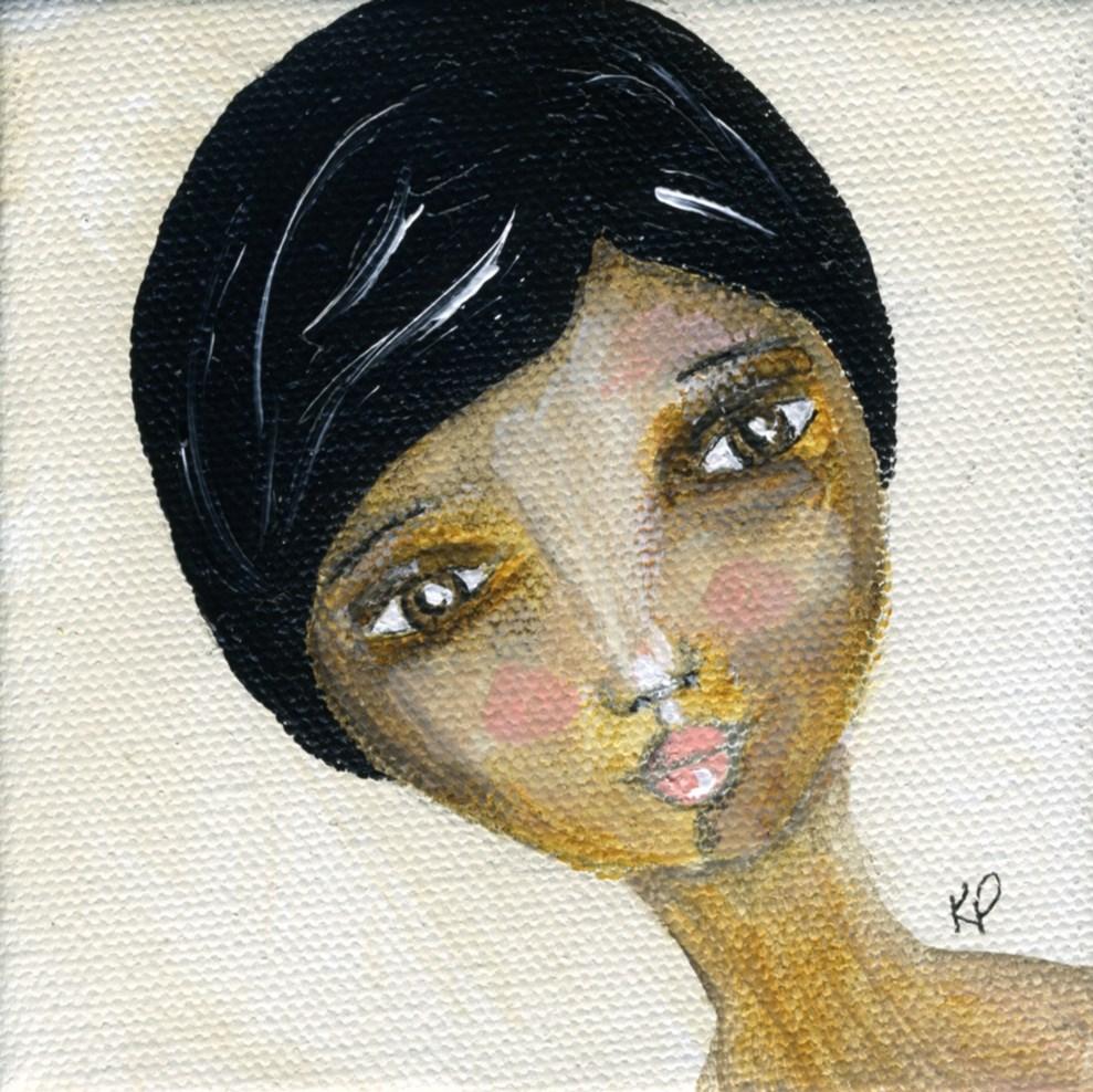 """Beauty"" original fine art by Kali Parsons"