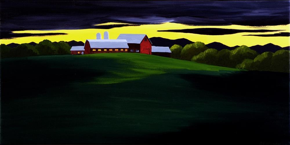 """""""Silhouette"""" original fine art by Anna Vreman"""