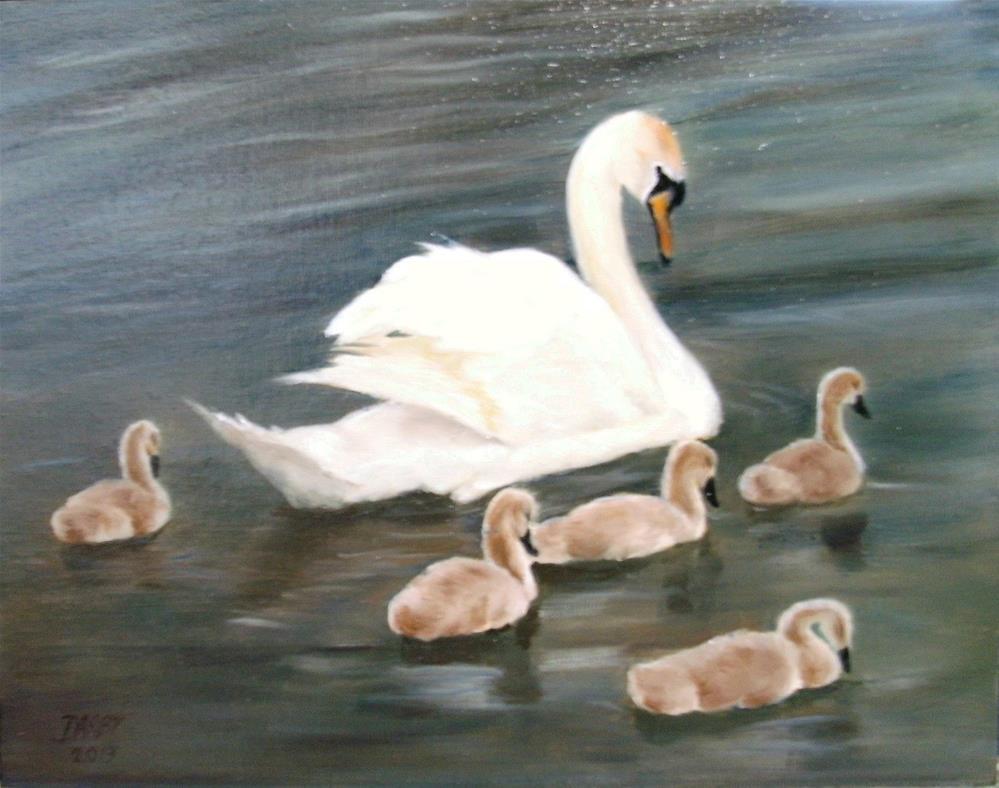 """""""Sunday Stroll"""" original fine art by Lynn Darby"""