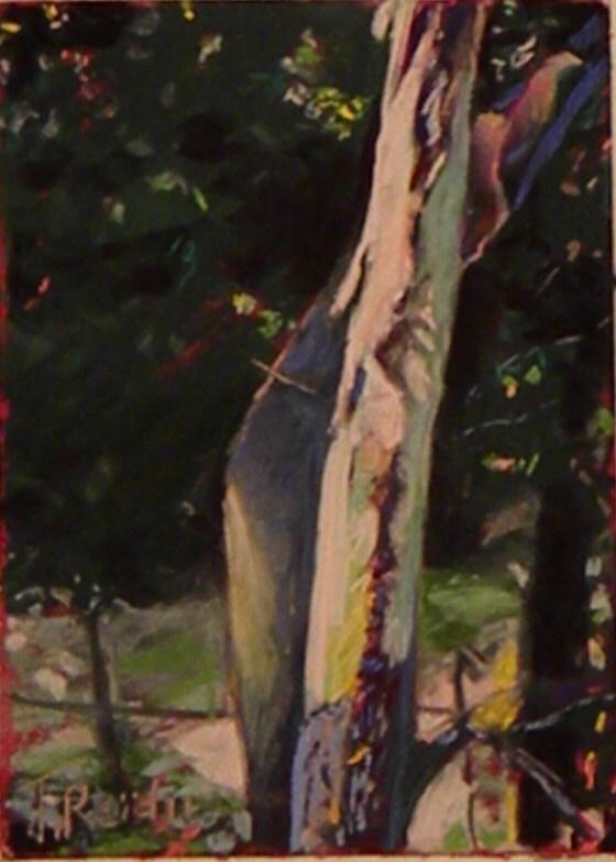 """""""River Birtch"""" original fine art by Toby Reid"""