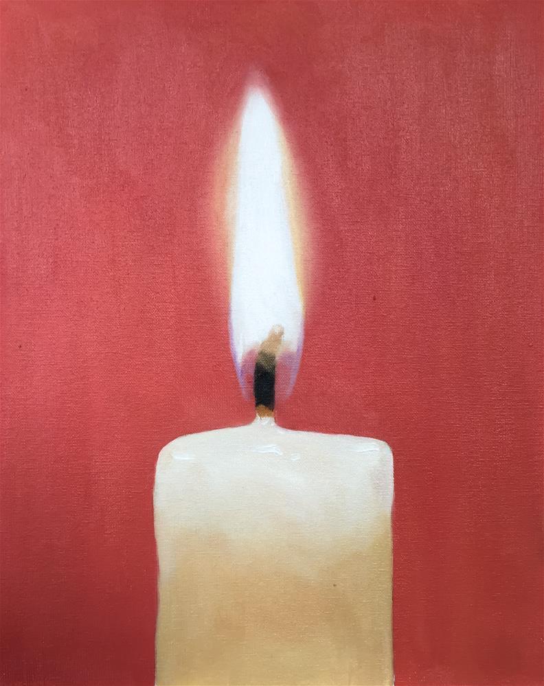 """Candle 1"" original fine art by James Coates"