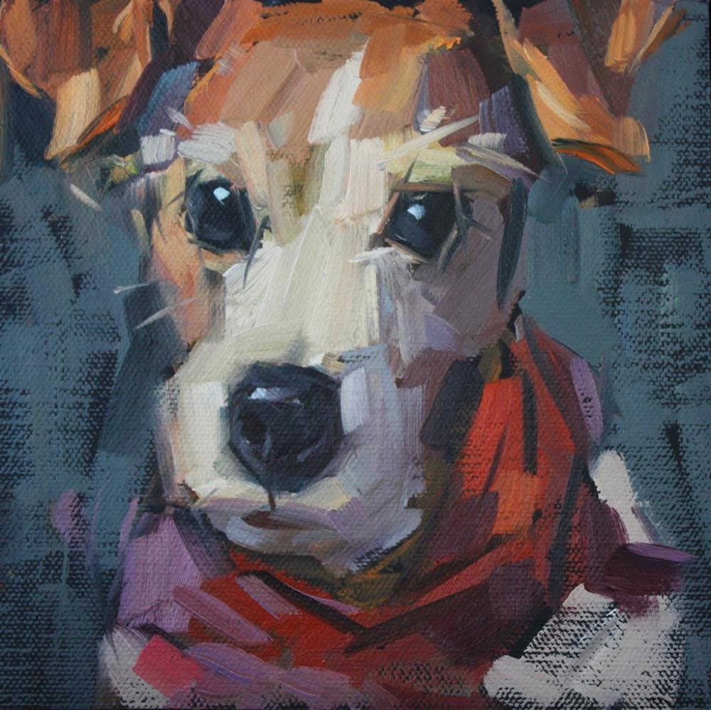 """Katie"" original fine art by Cathleen Rehfeld"