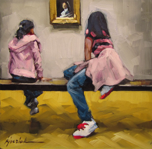"""In The Pink"" original fine art by Karin Jurick"