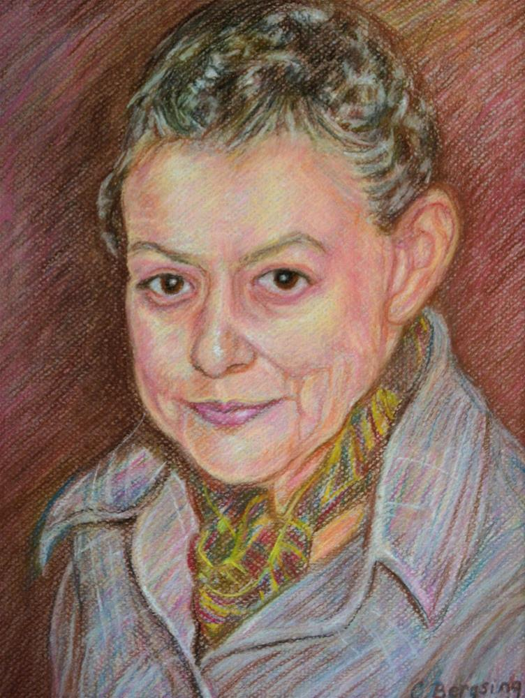 """Portrait of My Grandmother"" original fine art by Cathy Bergsing"