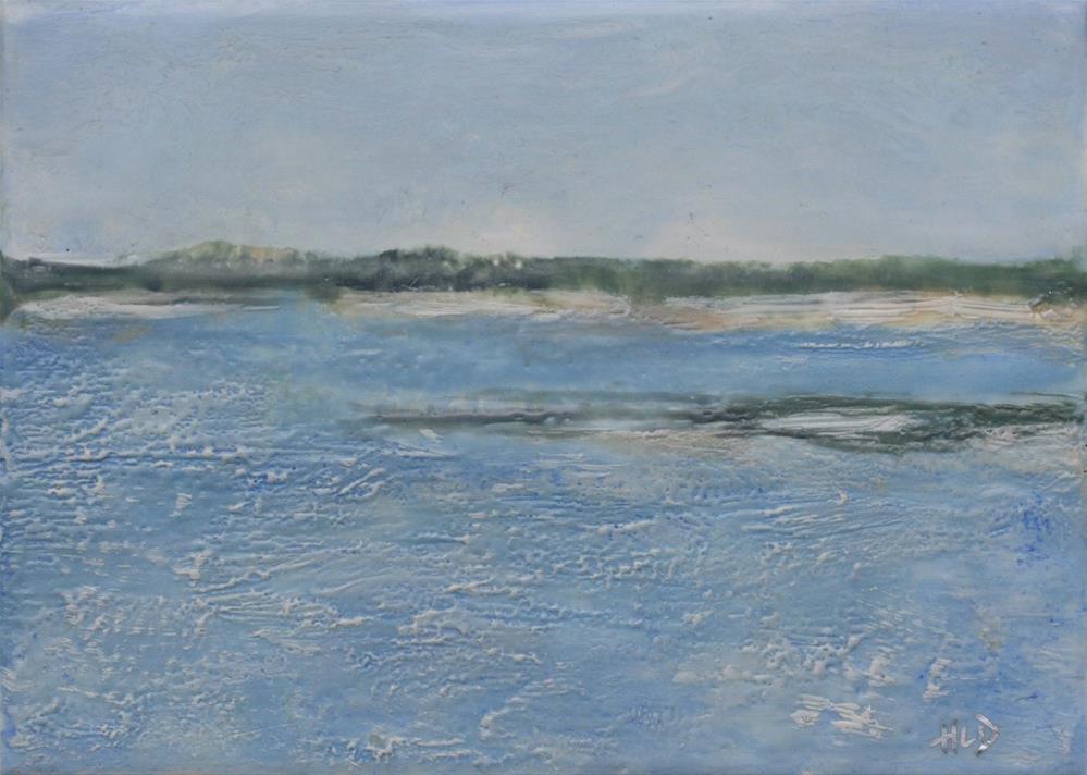 """""""Provincetown Breakwater"""" original fine art by Heather Douglas"""