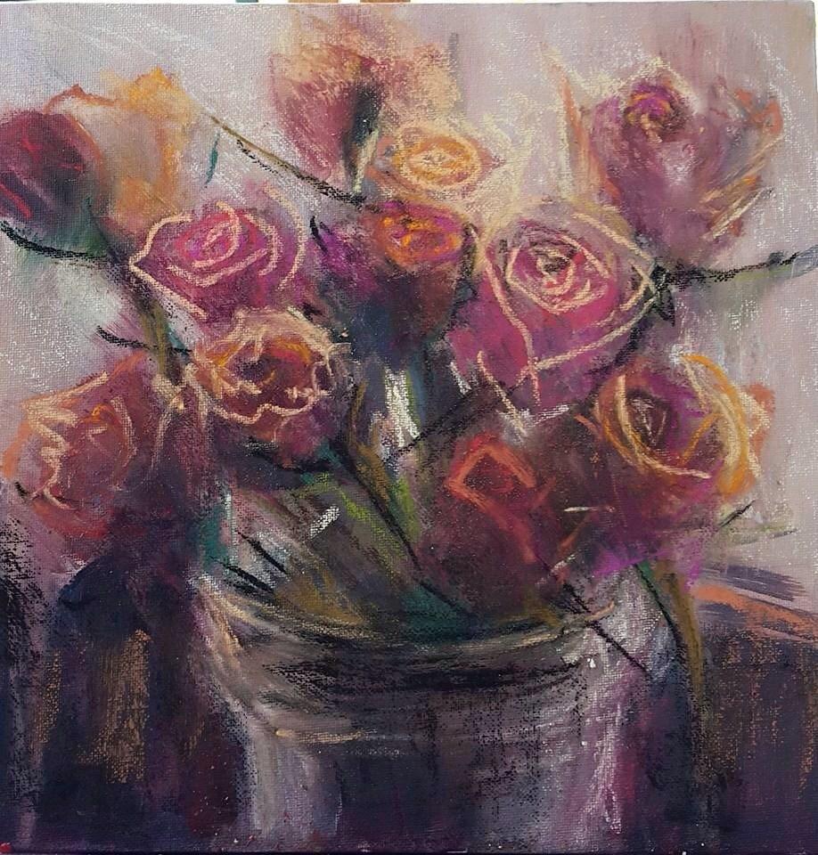 """Fancourt Lovelies"" original fine art by Rentia Coetzee"