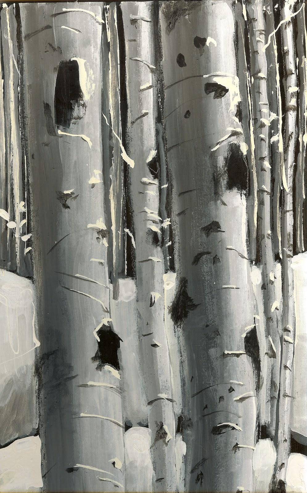"""""""Winter Whites"""" original fine art by Reveille Kennedy"""