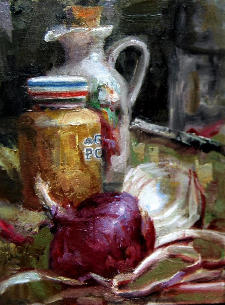 """""""Deli Delight"""" original fine art by Julie Ford Oliver"""