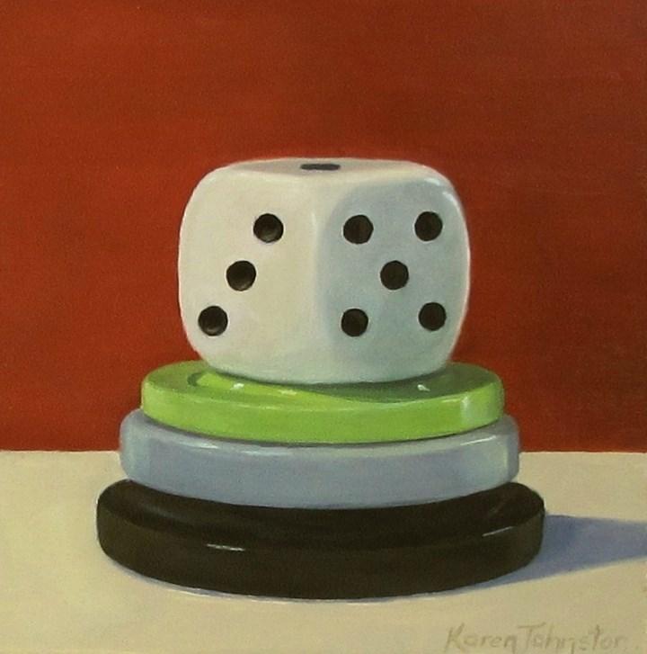 """Winners and Losers"" original fine art by Karen Johnston"