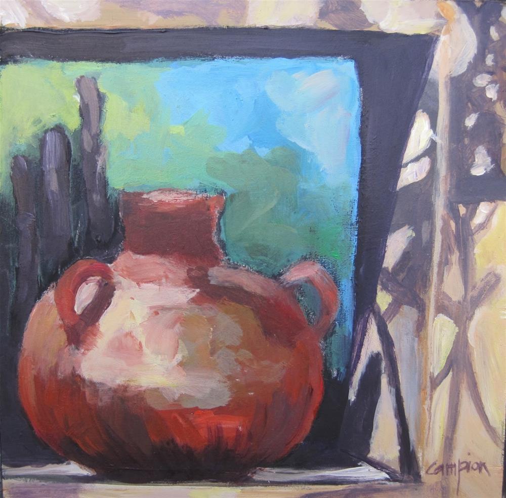 """140 Cornered"" original fine art by Diane Campion"