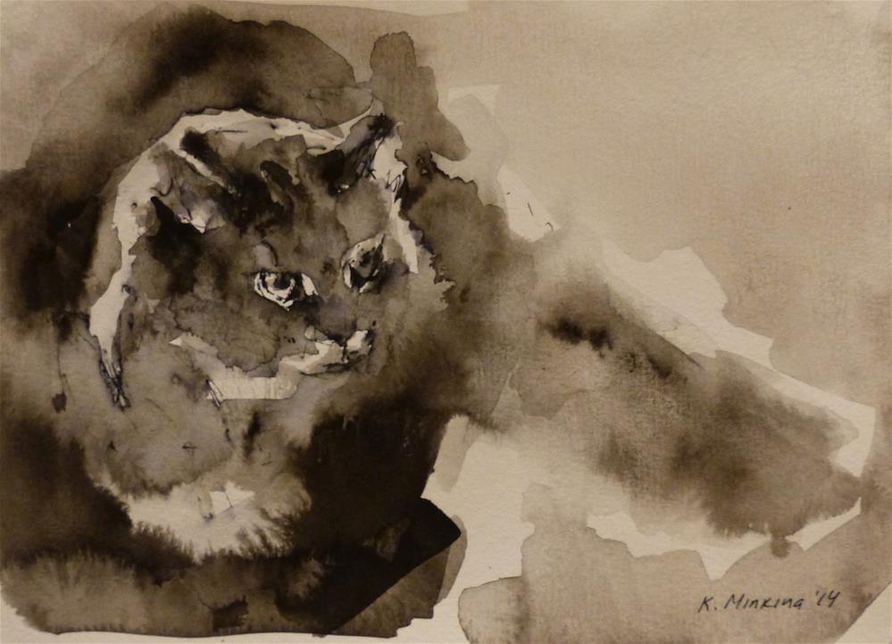 """adopt35"" original fine art by Katya Minkina"