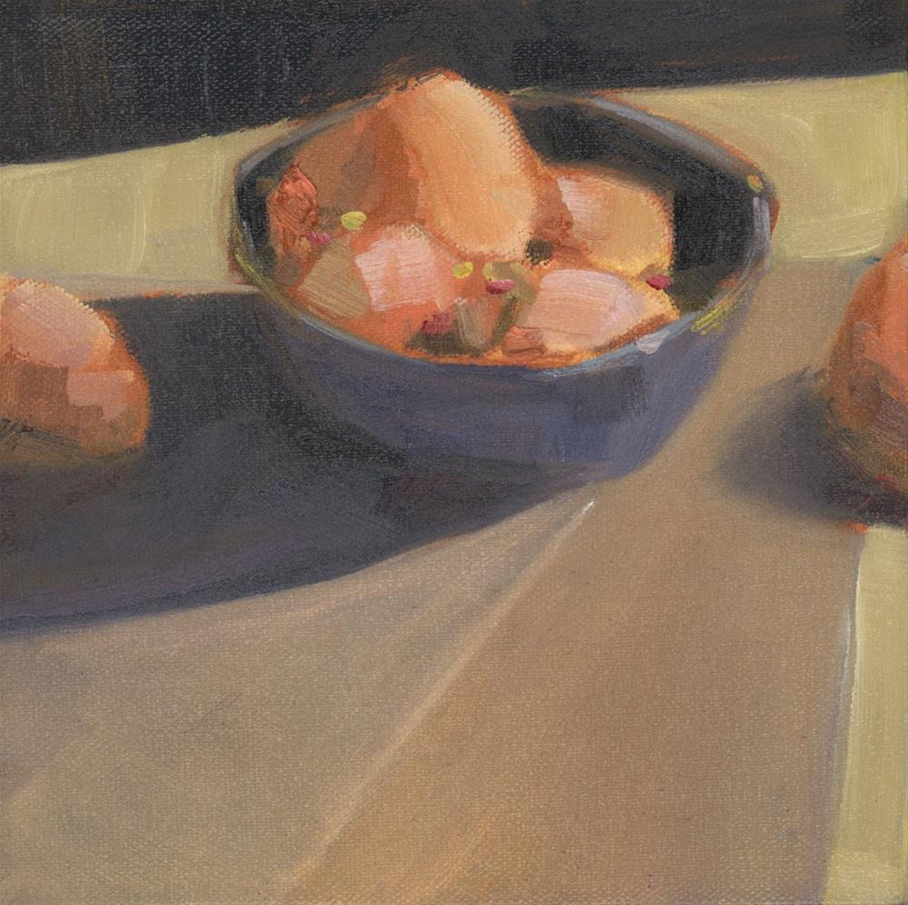 """1090: Bowl of Eggs"" original fine art by Brian Miller"