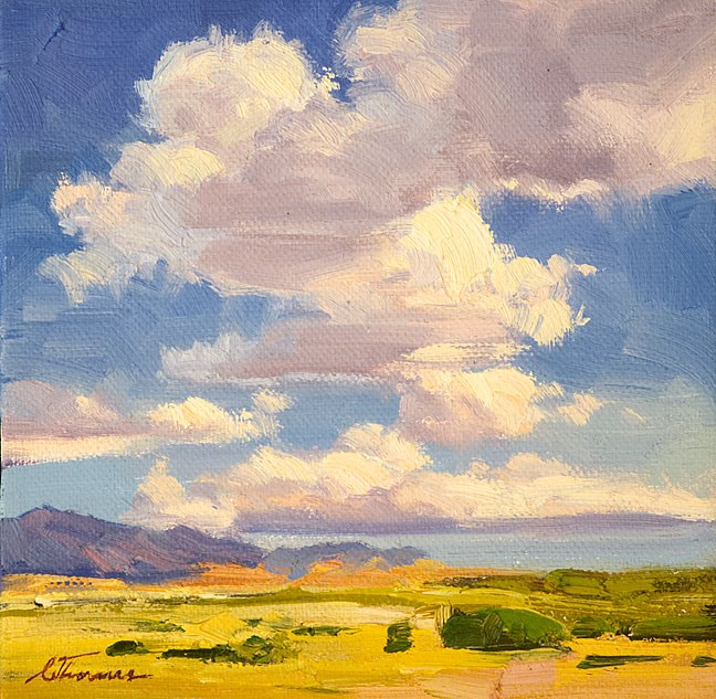 """Mid Summer"" original fine art by Charles Thomas"