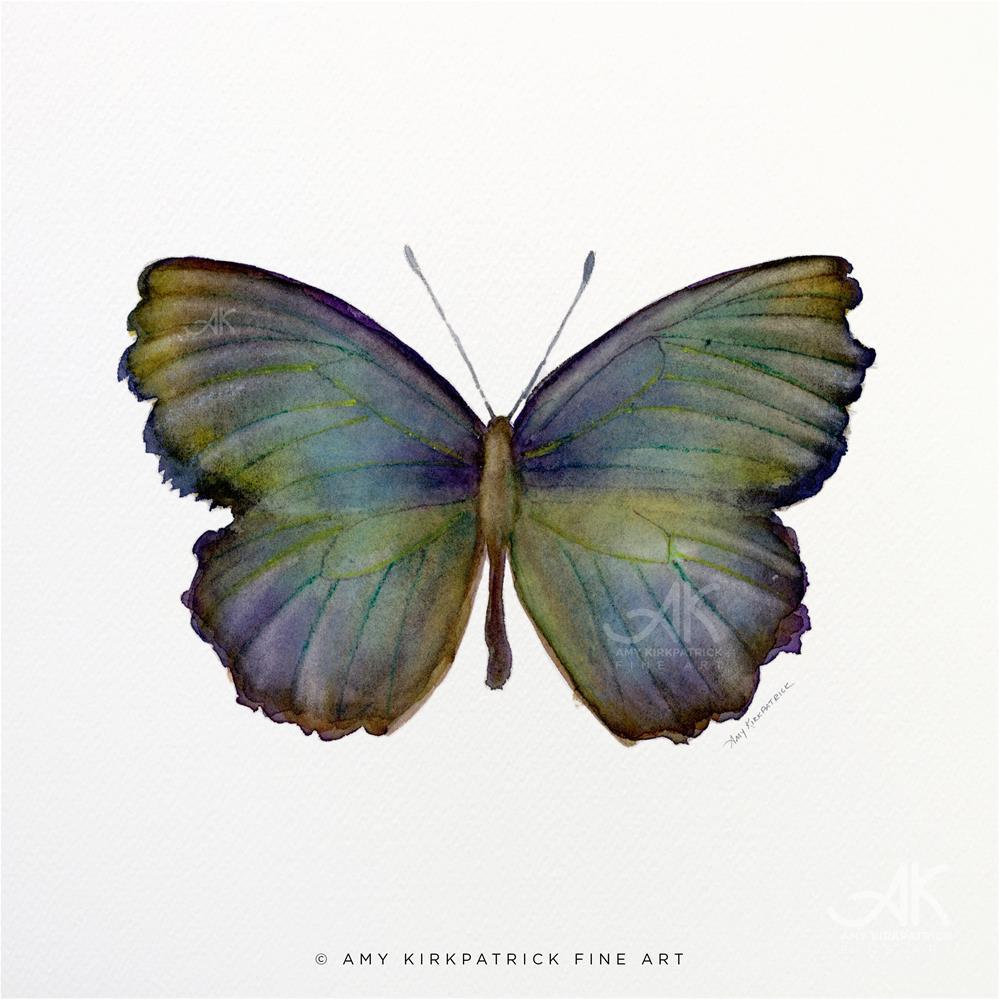 """""""#65 Moonglow Butterflyl #0375"""" original fine art by Amy Kirkpatrick"""