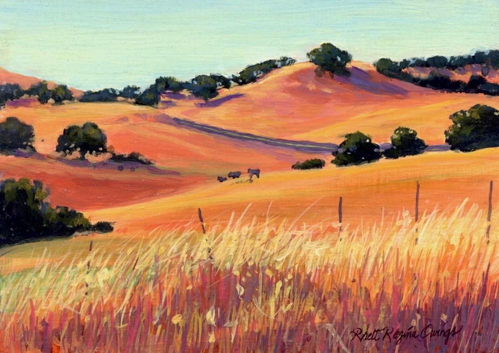 """Country Peace"" original fine art by Rhett Regina Owings"