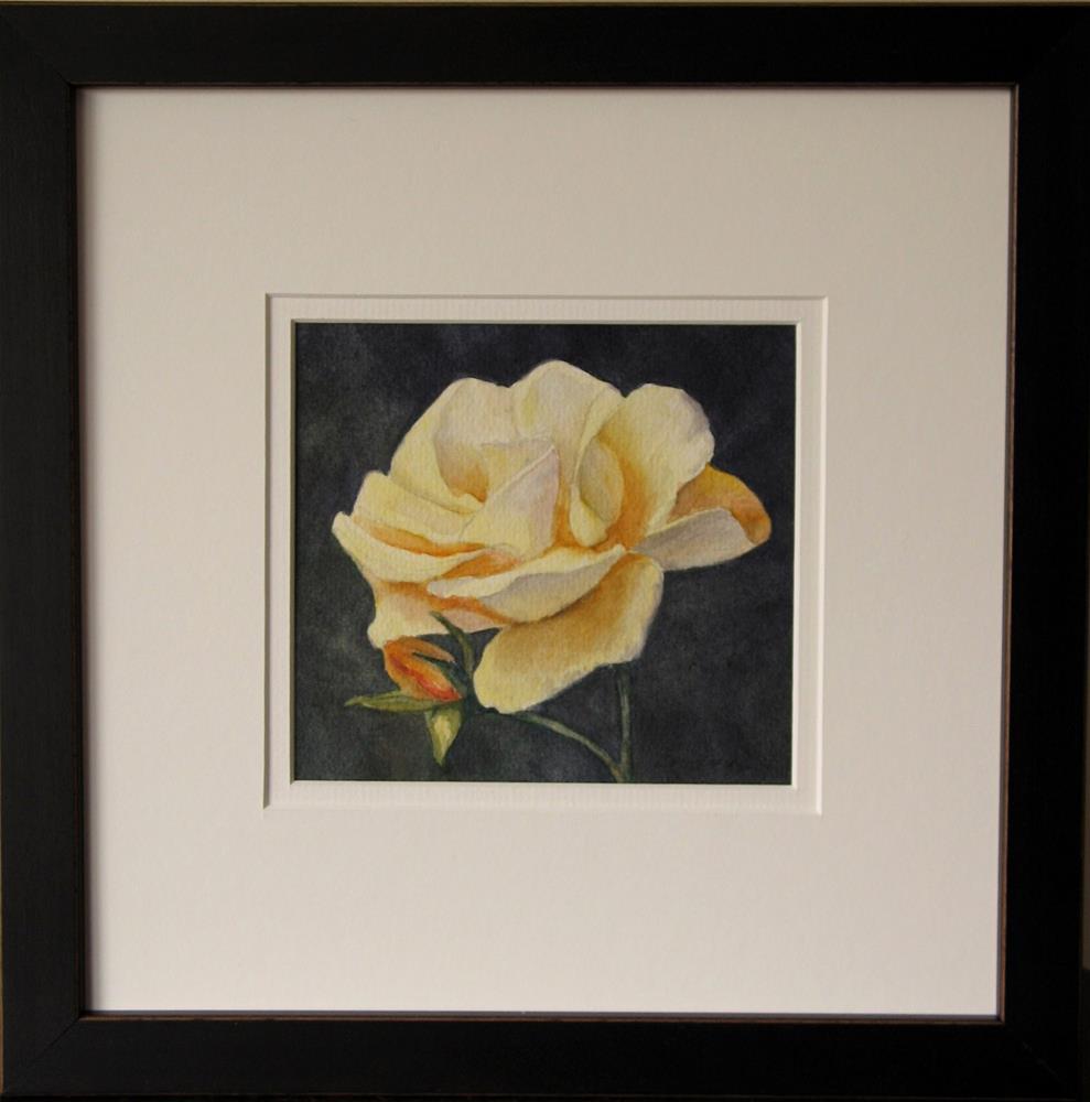 """""""Framed ~ Petals of Sunshine"""" original fine art by Vikki Bouffard"""