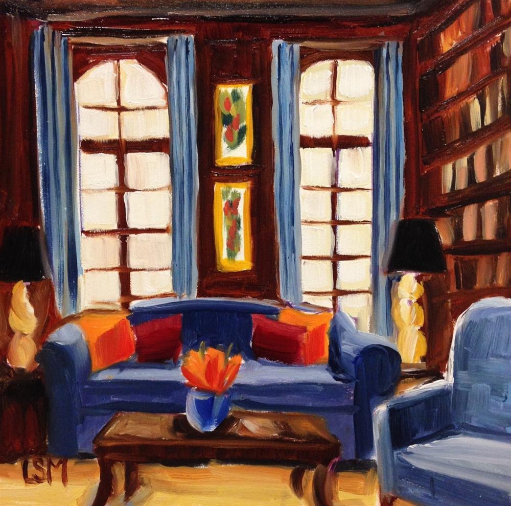 """Indigo Study"" original fine art by Linda Marino"