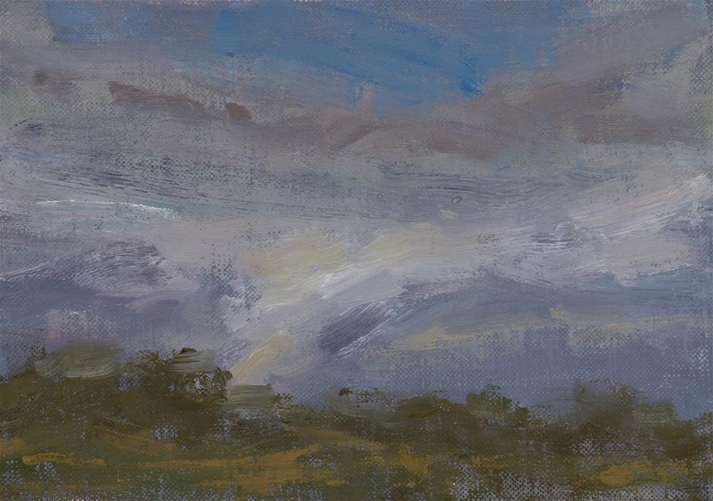 """Before the Storm."" original fine art by Scott Serafica"