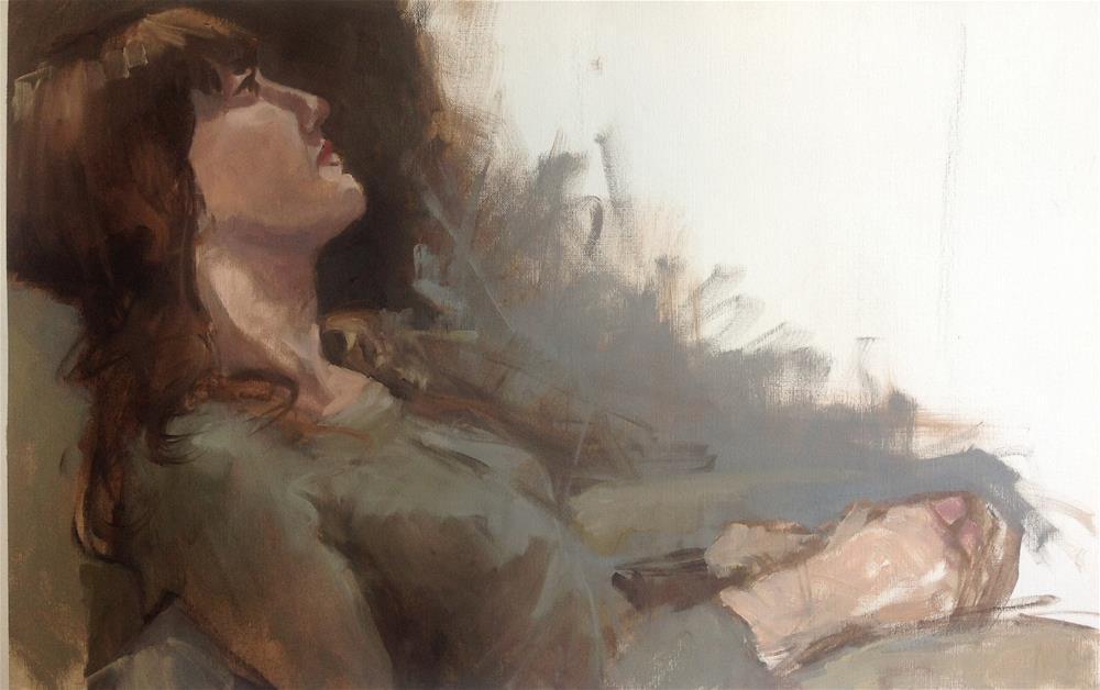 """Untitled"" original fine art by Christine Bayle"