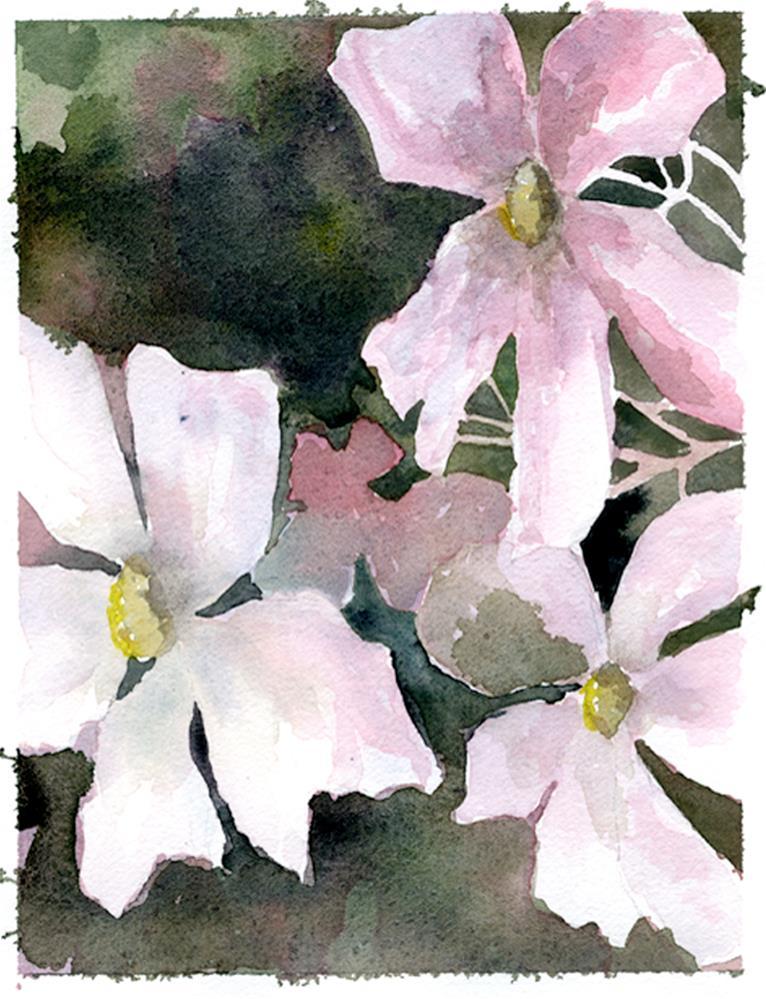 """""""Loose Pink"""" original fine art by Eileen Hennemann"""