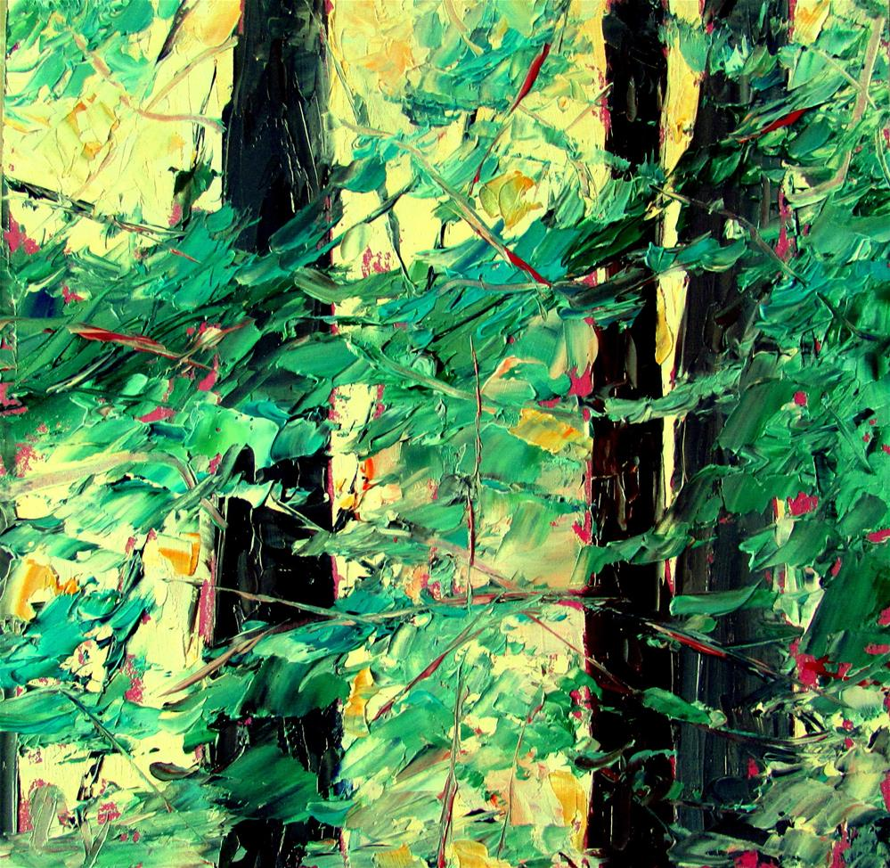 """8 x  8 inc oil"" original fine art by Linda Yurgensen"