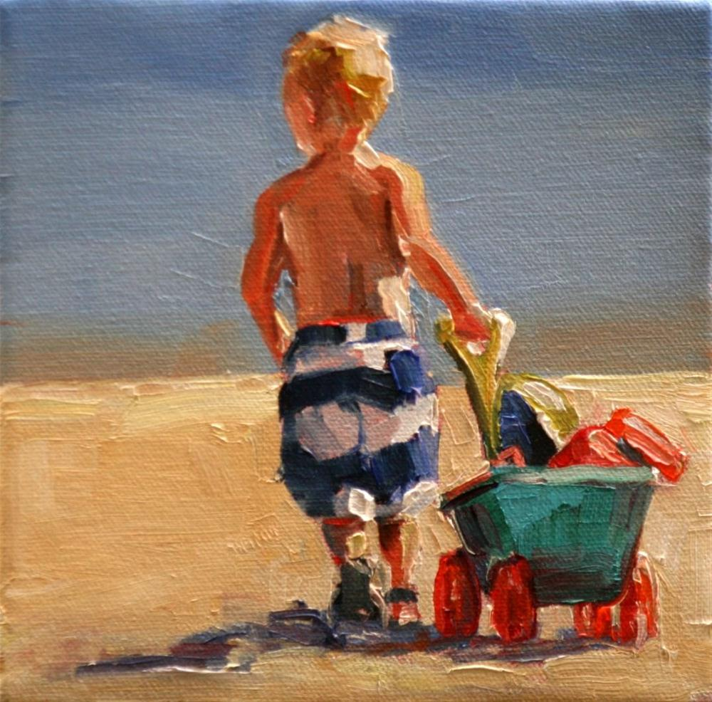 """heading home"" original fine art by Carol Carmichael"