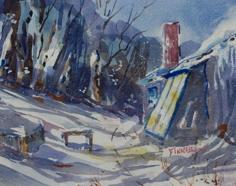 """Evan's House"" original fine art by David Finnell"