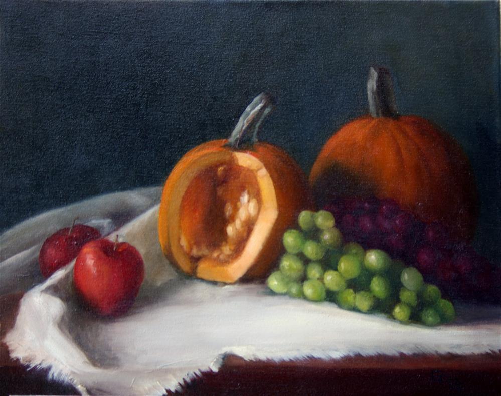 """Fall Bounty"" original fine art by G. G. Slockett"