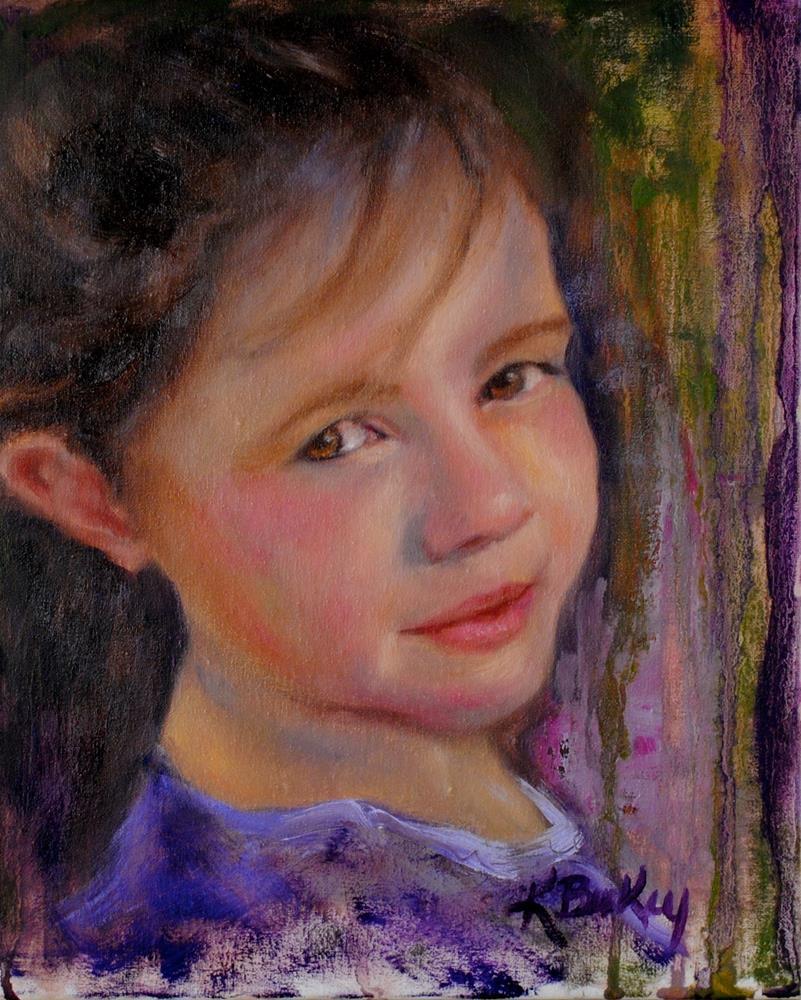 """""""Katie Joe"""" original fine art by Kelly Berkey"""
