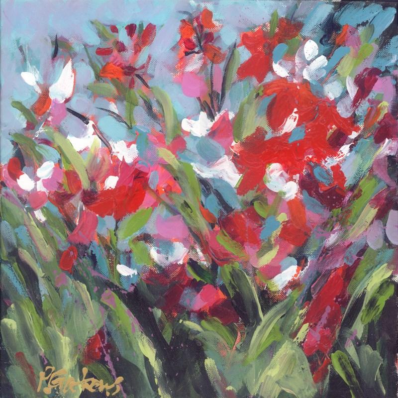 """Red Dawn"" original fine art by Pamela Gatens"