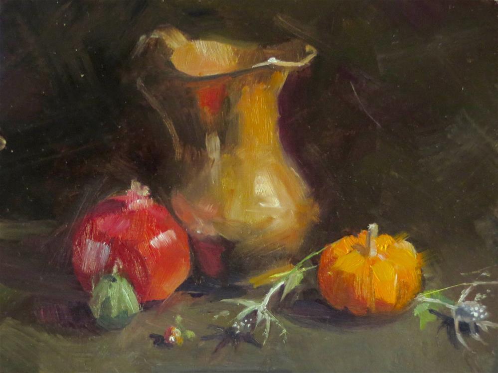 """""""I'm back...Qiang Huang workshop painting number 1"""" original fine art by Beth Bathe"""