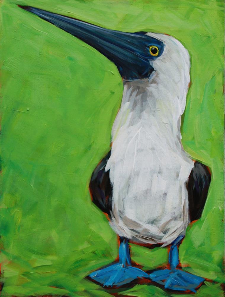 """Blue Feet"" original fine art by Kandice Keith"