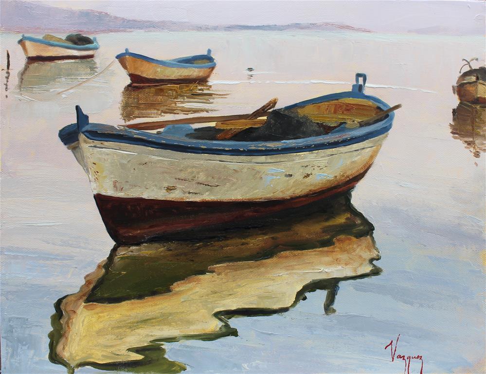 """Reflections"" original fine art by Marco Vazquez"