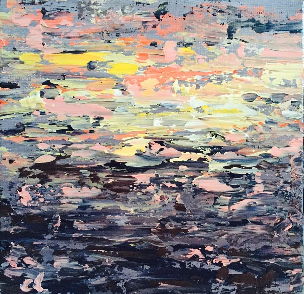 """""""Cali sunset"""" original fine art by Cheree Apalona Lueck"""