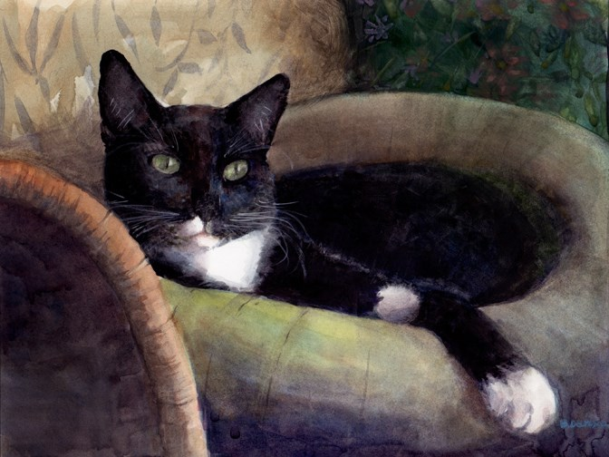 """Watercolor: Good at This (& being generous Artists)"" original fine art by Belinda Del Pesco"