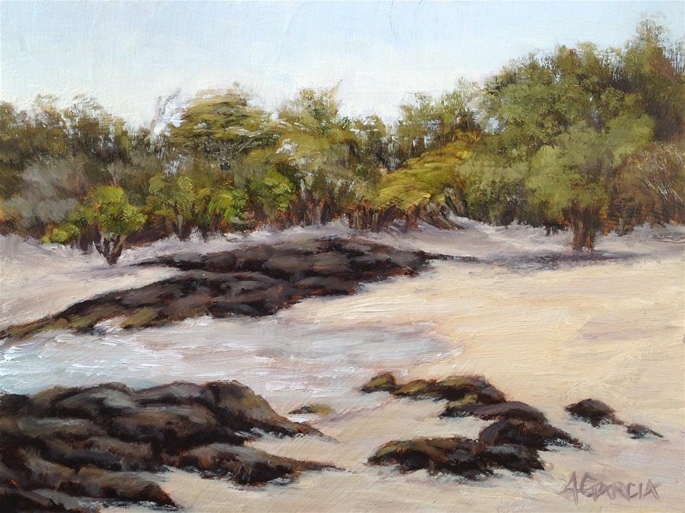 """Lava Flow"" original fine art by Jeannie Garcia"