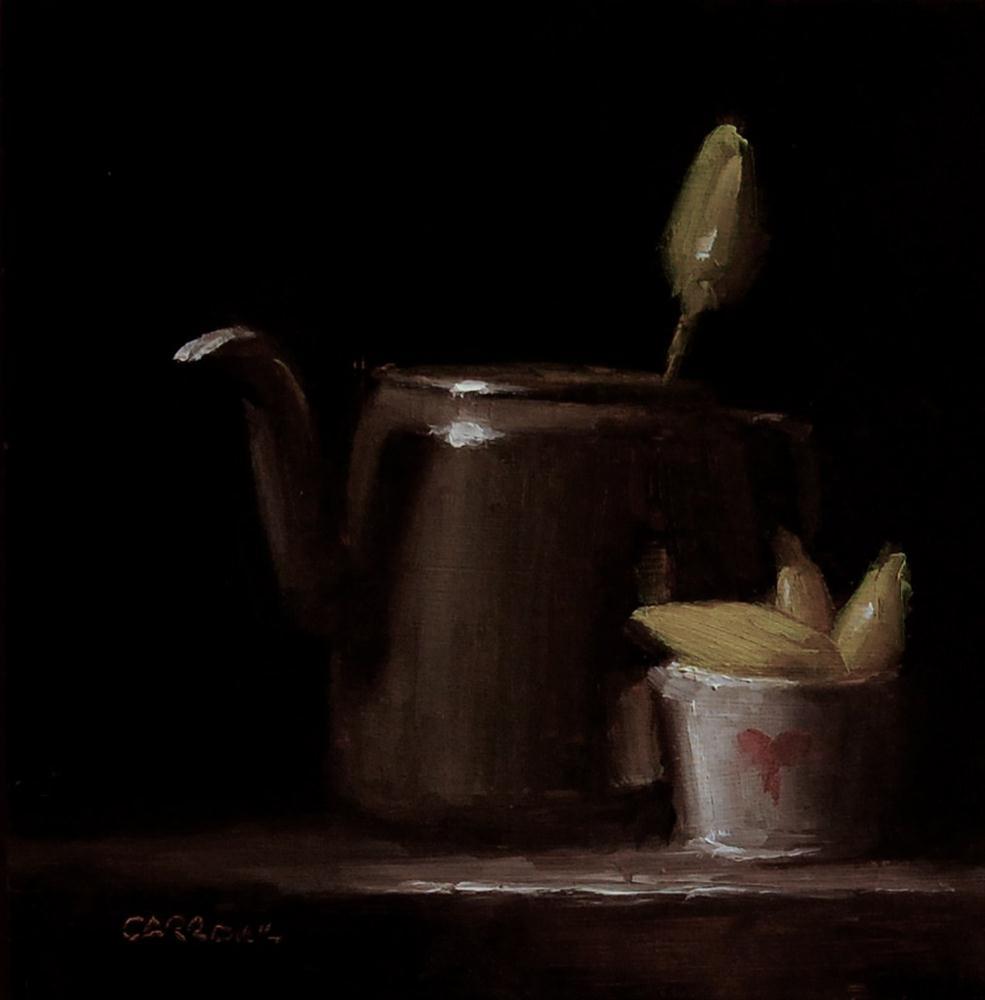 """""""Kettle Flower"""" original fine art by Neil Carroll"""