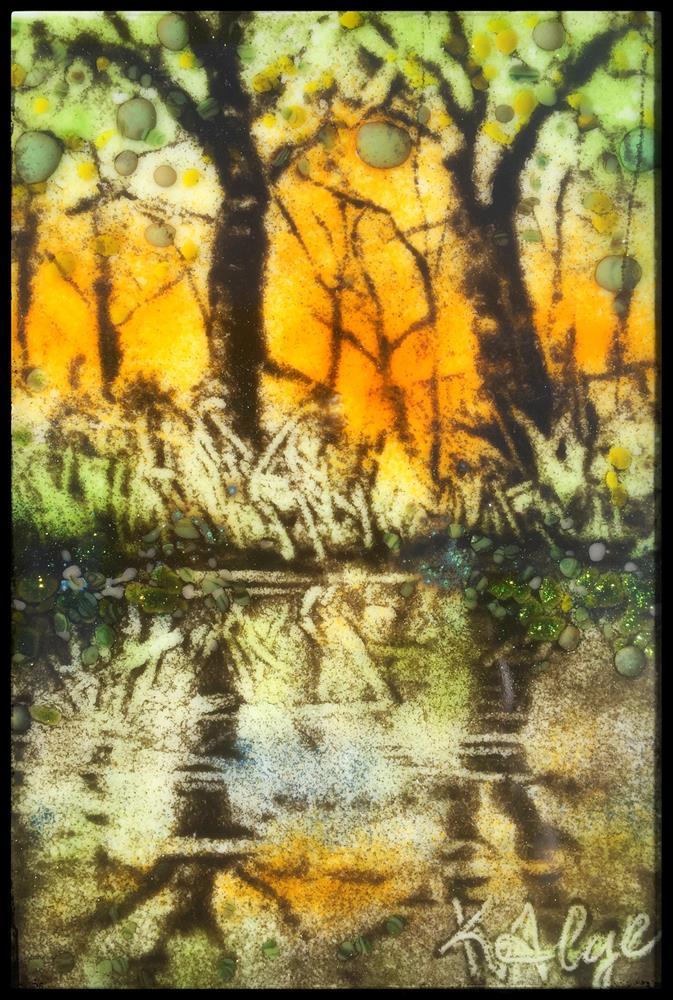 """Bayou Sun"" original fine art by Kelly Alge"