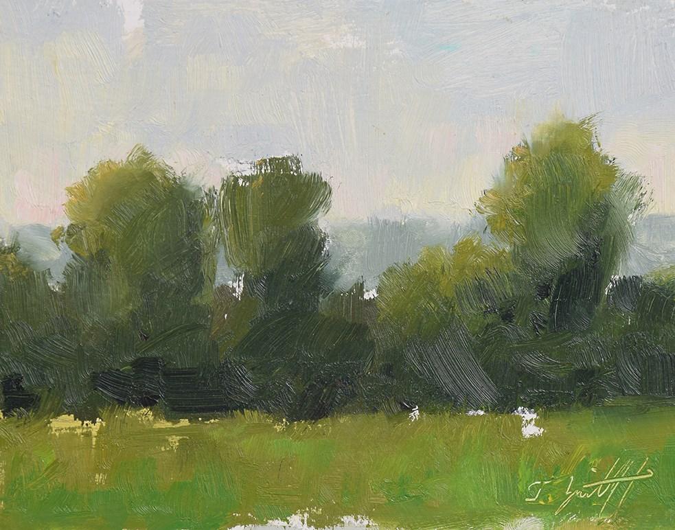 """Limes & Mist"" original fine art by Todd Zuithof"