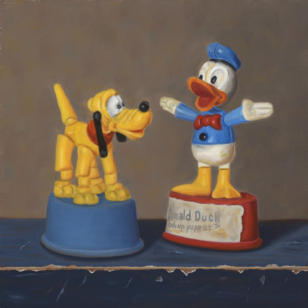 """Donald Preaches"" original fine art by Susan Fern"