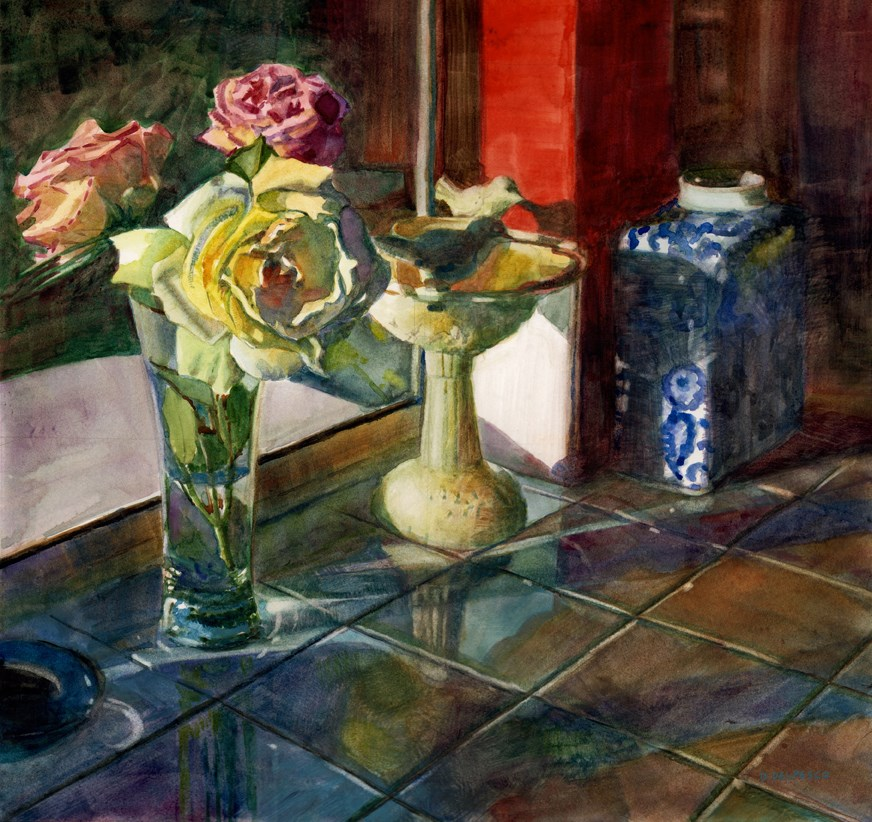 """Watercolor: Season of Interest (& the Thousand Oaks Artwalk this weekend!)"" original fine art by Belinda Del Pesco"