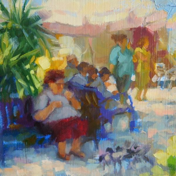 """Birds of a Feather"" original fine art by Bruce Bingham"