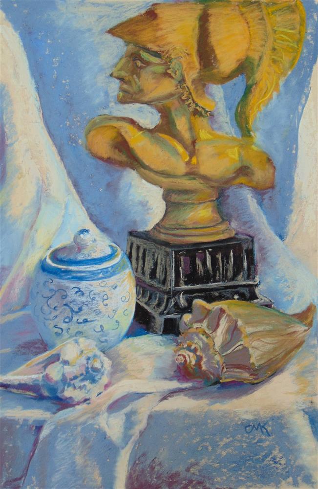 """Greek Mythology"" original fine art by Catherine Kauffman"