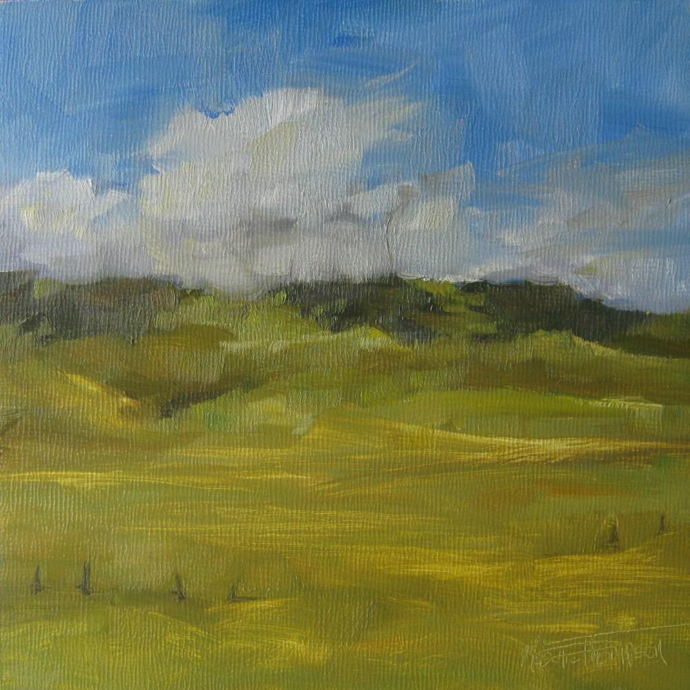 """""""Cowboy Trail III"""" original fine art by Melanie Thompson"""