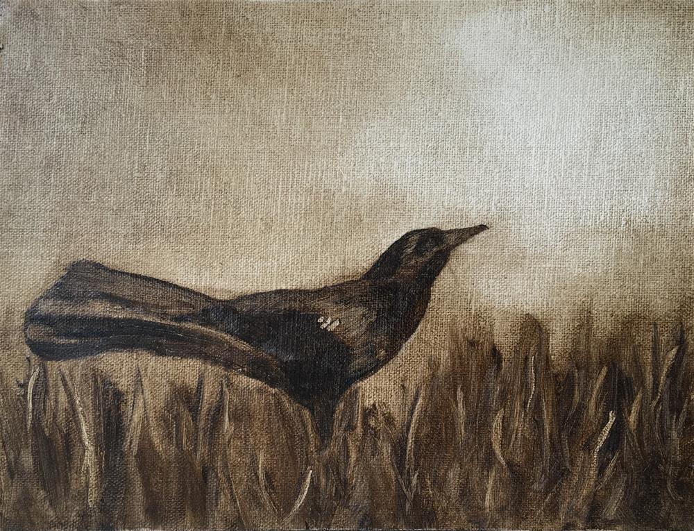 """""""Challenge - Bird 1"""" original fine art by Van DeGoede"""